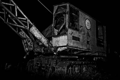 Old Machine Photograph - Abandoned Machine by Michael  Bjerg and Alex Vendelbo