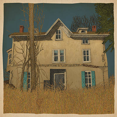 Abandoned Art Print by Meg Shearer