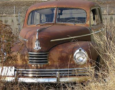 Photograph - Abandoned Nash Rambler Rusty And Old Want A Ride? by Windy Mountain