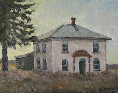Painting - Abandoned Near Hillsboro by Jeff Dickson