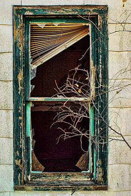 Venetian Blinds Photograph - Abandoned by Nikolyn McDonald