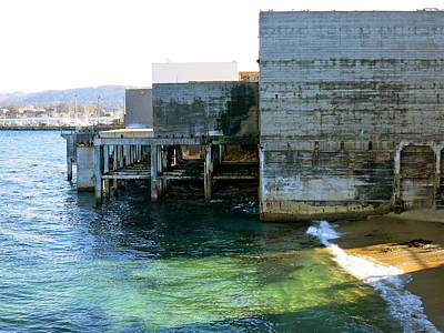 Photograph - Abandoned On Cannery Row by Paul Foutz