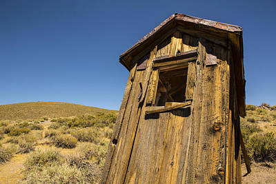 Abandoned Outhouse Print by Bryant Coffey