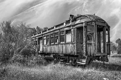Abandoned Passenger Train Coach Art Print by Daniel Hagerman