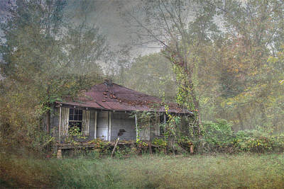Photograph - Abandoned  by Patricia Dennis