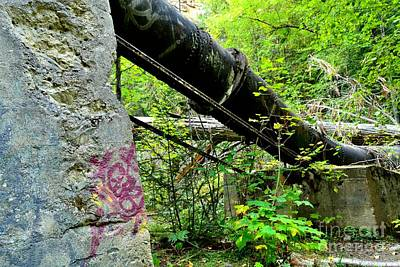 Abandoned Pipeline I Art Print by Phil Dionne