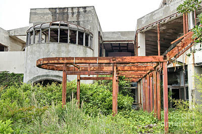 Photograph - Abandoned Places 23 by David Birchall