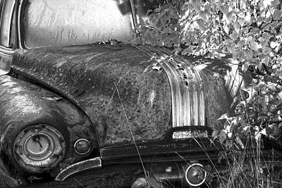 Mixed Media - Abandoned Pontiac by Jim Vance