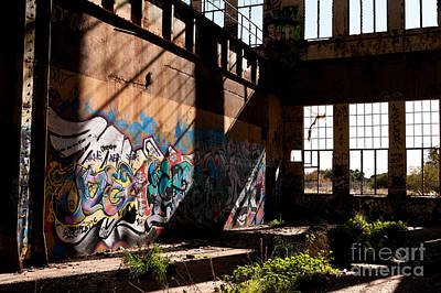 Photograph - Abandoned Power Station 04 by Rick Piper Photography