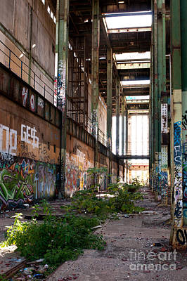 Photograph - Abandoned Power Station 05 by Rick Piper Photography