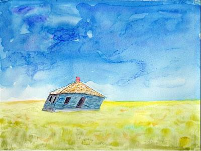 Painting - Abandoned Prairie by Jim Taylor