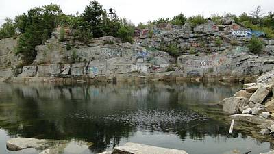 Photograph - Abandoned Quarry  by Charlayne Grenci