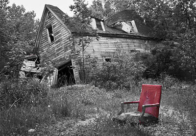 Photograph - Abandoned by Ricky L Jones
