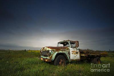 Photograph - Abandoned by Ryan Heffron