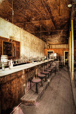 Photograph - Abandoned Saloon Bar by Susan Leonard