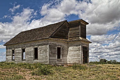 Abandoned Schoolhouse Original by Joyce Meck
