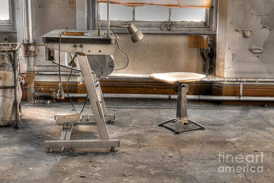 Photograph - Abandoned Sewing Factory by David Birchall