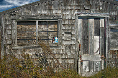 Photograph - Abandoned Shack Owls Head Maine Img 6111 by Greg Kluempers