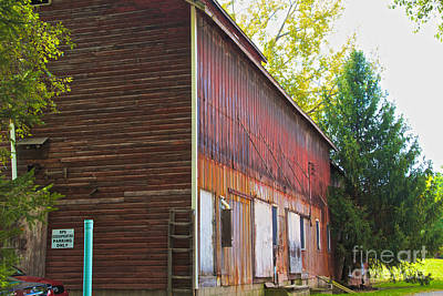 Photograph - Abandoned Storage by William Norton
