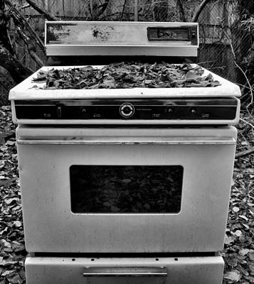 Photograph - Abandoned Stove by Joshua House