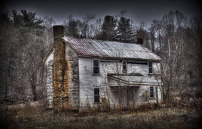 Old House Photograph - Abandoned by Todd Hostetter