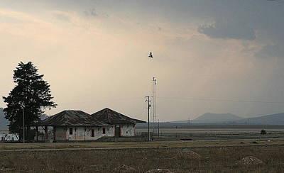 Apan Photograph - Abandoned Train Station by Raul Ortiz-Pulido