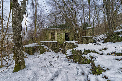 Photograph - Abandoned Villages On Winter Time - Inverno Nei Paesi Abbandonati 05 by Enrico Pelos
