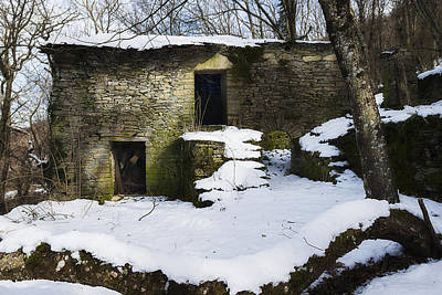 Photograph - Abandoned Villages On Winter Time - Inverno Nei Paesi Abbandonati 06 by Enrico Pelos