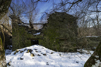 Photograph - Abandoned Villages On Winter Time - Inverno Nei Paesi Abbandonati 09 by Enrico Pelos