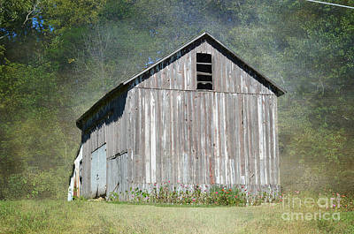 Photograph - Abandoned Vintage Barn In Illinois by Luther Fine Art