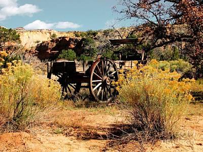 Abandoned Wagon Original by Steven Parker