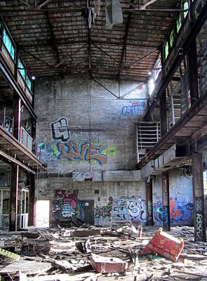 Photograph - Abandoned Warehouse 2 by Anita Burgermeister
