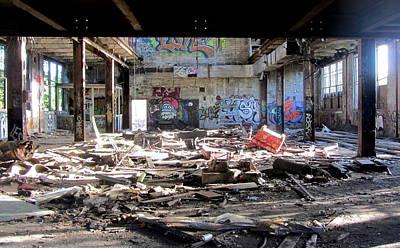 Photograph - Abandoned Warehouse 4 by Anita Burgermeister