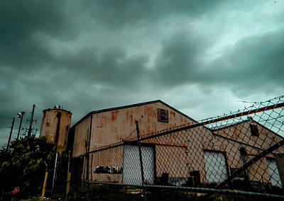 Photograph - Abandoned Warehouse by Christy Usilton