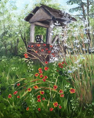 Painting - Abandoned Well by Margie Perry