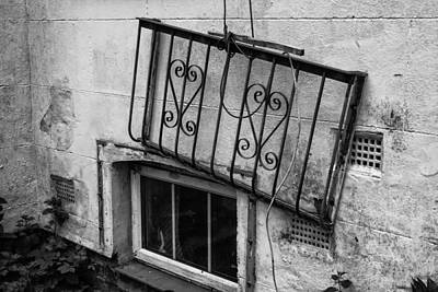 Abandoned Window  Art Print