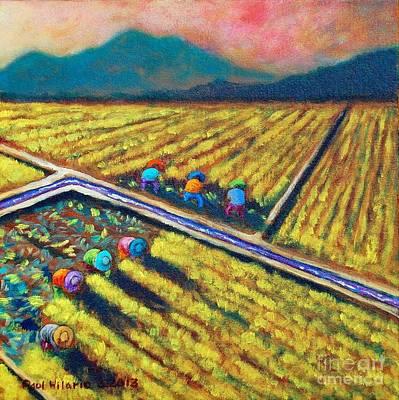 Filipino Painting - Abante Forward by Paul Hilario