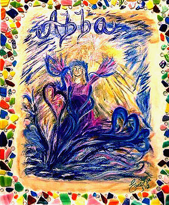 Abba Father Painting - Abba by Emily Slater