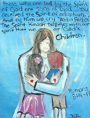 Abba Father Painting - Abba Father by Kristen Lasher
