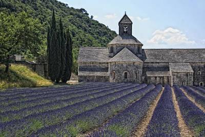 Provence Photograph - Abbaye De Senanque by Joachim G Pinkawa