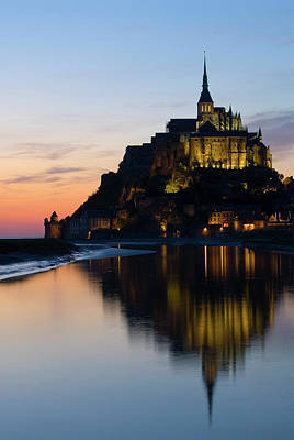 Photograph - Abbaye Du Mont St-michel by Dennis K. Johnson