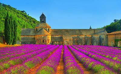 Provence Photograph - Abbaye Notre-dame De Senanque by Midori Chan