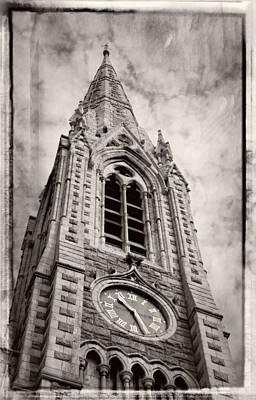 Photograph - Abbey Church Clock by Greg Mimbs