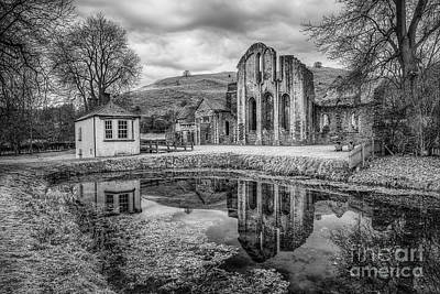 Abbey Reflections Art Print