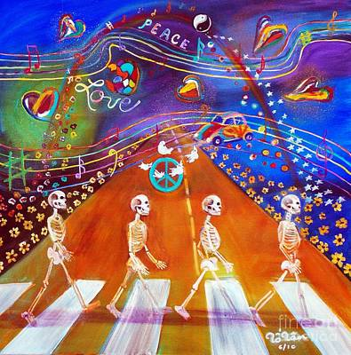 Abbey Road In 50 Years Art Print by To-Tam Gerwe