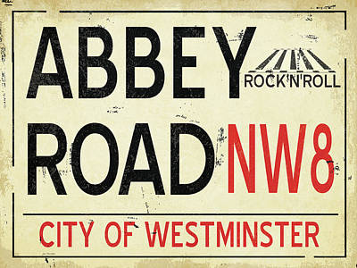 International Painting - Abbey Road by Jo Moulton