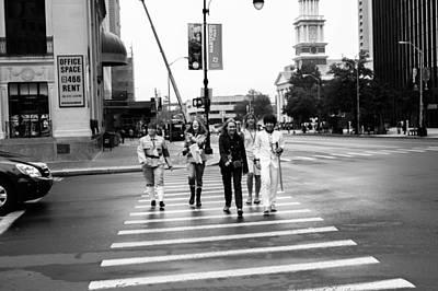 Photograph - Abbey Road Wannabes by Patti Colston
