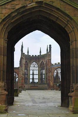 Ruins Photograph - Abbey Ruin - Scotland by Mike McGlothlen