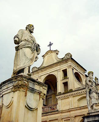 Religious Artist Photograph - Abbey Statues by Valentino Visentini