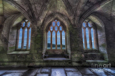 Abbey View Art Print